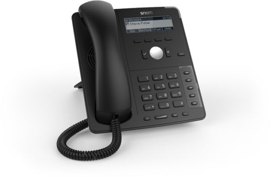 Snom D715 Phone (Black)