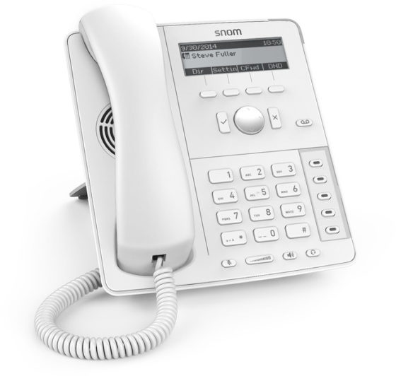 Snom D715 Phone (White)