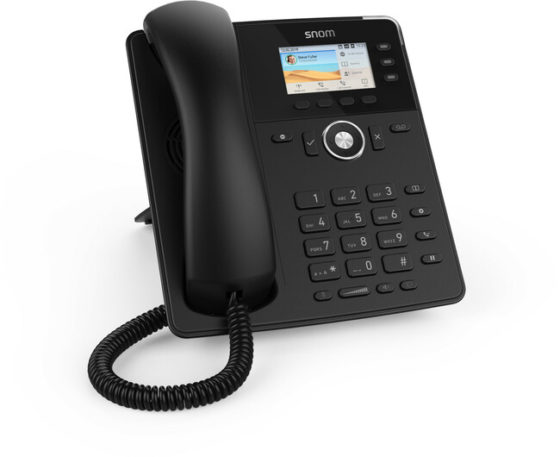 Snom D717 Phone (Black)