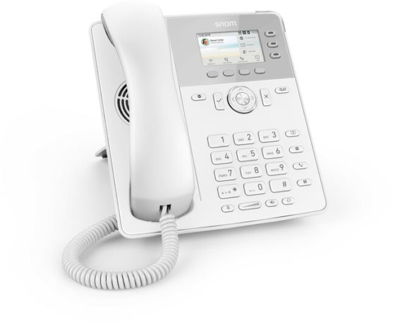 Snom D717 Phone (White)
